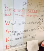 Students in science learn the wake testing strategy.