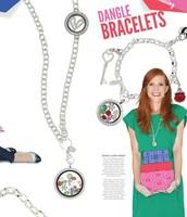 Dangle Bracelet & Over the Heart Chain