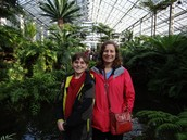 My mom and I at the Botanic Gardens