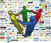 los grupos que se hacen las redes sociales