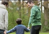 La familia con padres diferentes