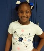 Week 3 Student of the Week Jaidyn Johnson