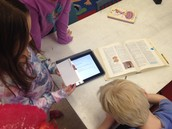 Using an ipad AND dictionary to learn new terms