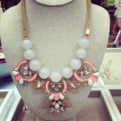 Mixed Media Statement Necklaces
