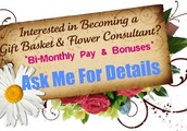 Earn Income with La Bella Baskets!
