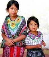 Unas niñas de Guatemala