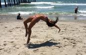 Beach Tumbling