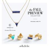 Deja Vu Stone Studs & Element Necklace