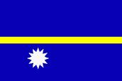 The Nauru flag