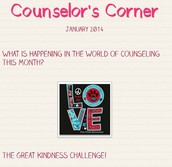 Monthly Counselor Newsletters