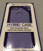 Clear/Purple iPhone 6 Protective Case