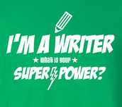 Writers Can Be Superheroes, Too!