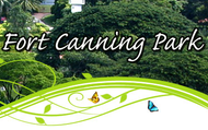 Fort Canning Website Home Screen