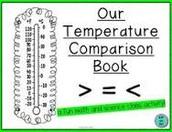 Temperature comparison book