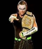 Jeff hardy with the tiled