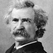 Why does Mark Twain signify weather?