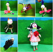 Marionettes by Gr. 1