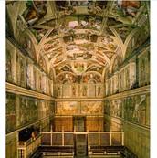 Sistin Chaple ceiling