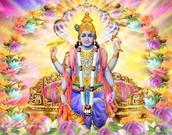 The God Vishnu
