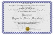 This Is The Degree I Had To Get So I could Teach