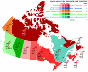 Canadian Poiltical Party Division