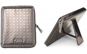 Signature Ipad Case - Embossed Pewter