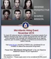 CIA Mid-Atlantic Hiring Event