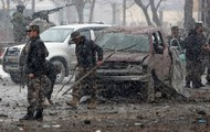 Afghanistan scene of suicide attack and bombing