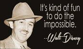 One of the many Walter Disney quotes