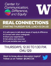 Real Connections with the Center for Communication, Difference, and Equity (CCDE)