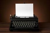 1.) Writer