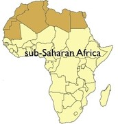 Where is sub Saharan Africa ?