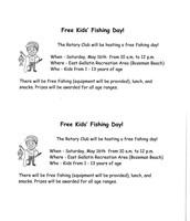 Free Kids Fishing Day