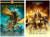 Rick Riordan Books (The Lost Hero and The Red Pyramid)