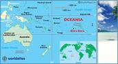 where is bora bora on a map?