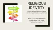 Religious Identity Discussion