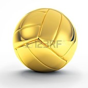 You win a golden volleyball