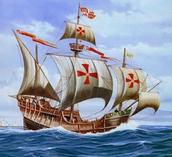Digital Rendition of Portuguese Caravel