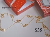 Signature Clover Necklace retail $69 sale $35