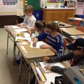 Practicing long division!