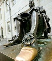 Lucky Shoe of John Harvard