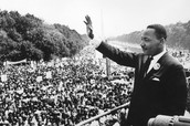 MLK speaking about black people's rights