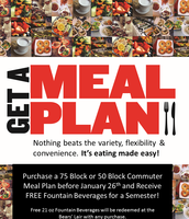 Check out a Meal Plan Deal