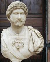 emperor hadrian was born 76 A.D married Trajan's grand-niece Vibia Sabina
