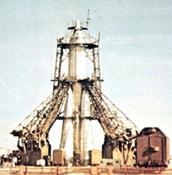 Sputnik before launch