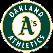 Oakland A's Baseball Logo
