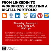 From LinkedIn to WordPress: Creating Digital Portfolios