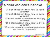 Good Behavior Starts with Good Teaching