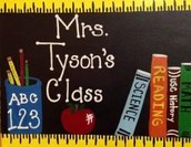 Teacher's Room Sign!!