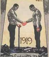 הקמת המפלגה הפאשיסטית הלאומית על ידי מוסוליני בששנת 1919